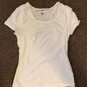 Tops - White Old Navy Active T Shirt Sz M